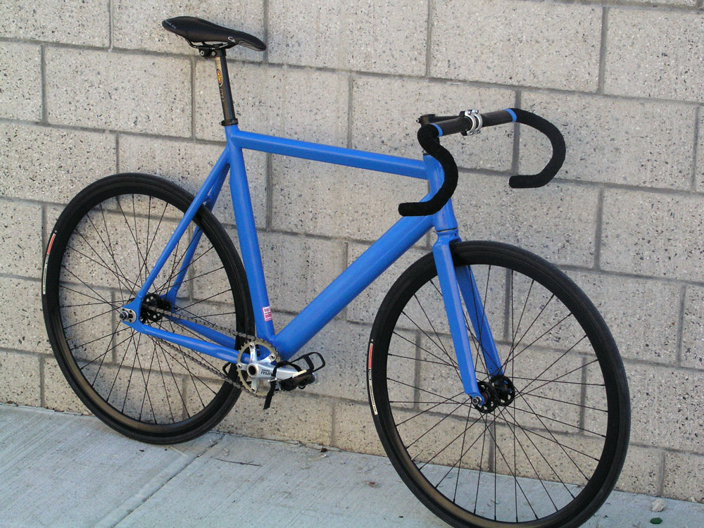 Black and Blue bicycle profile photo