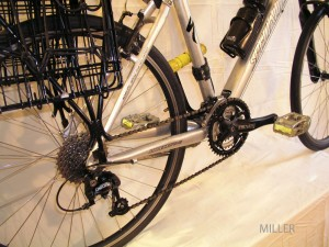 Grocery getter bicycle drivetrain