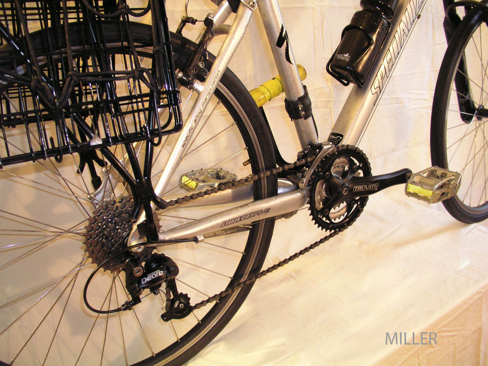 Grocery Getter bicycle profile