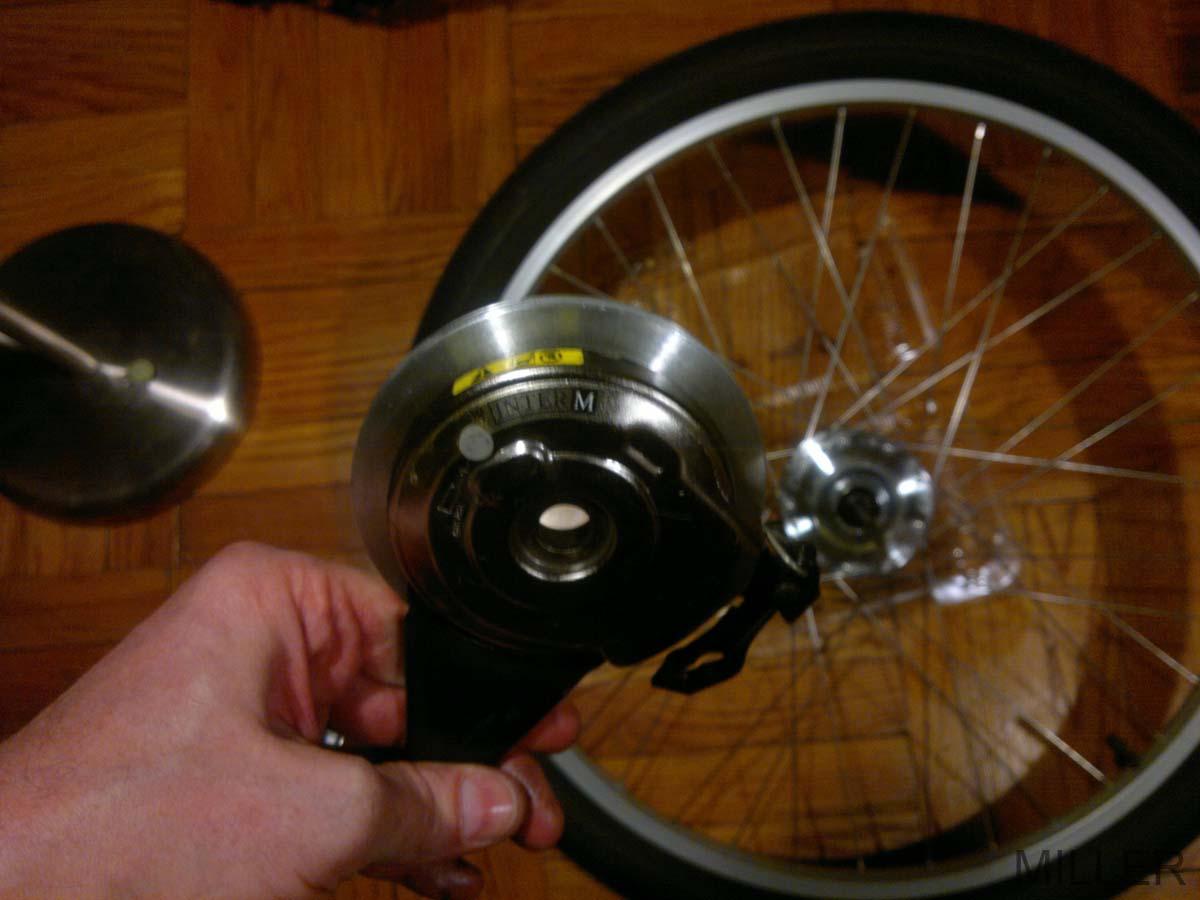 Nexus 7 internal gear hub bearings view shimano