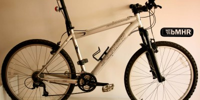 Bring your pretty damn good mountain bike. Convert it for urban cycling by using products made with bMHR.
