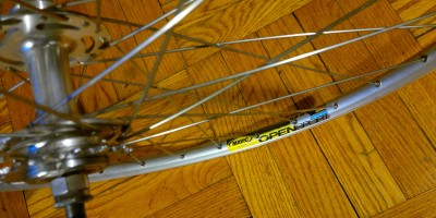 Swapping a Rim to Improve Bicycle Performance
