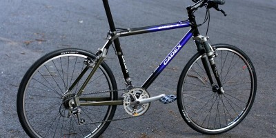 Street Bicycle  --  Giant Cadex 3  --  fast by bMHR