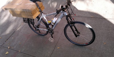 photograph of Bring-home-heavy-furniture-load-on-bicycle-ride-city-cycle-urban-bike-ikea-cabinets-on-sale-brooklyn-bMHR