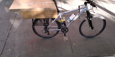 photograph of A big load-of-ikea-cabinets-on-modified-cargo-carrying-bicycle-Grocery-Getter-vehicle-big-city-use-get-things--deliver-home-heavy-items-bMHR