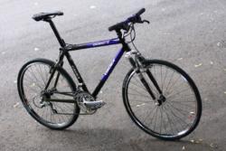 Fiber Optic Street Bicycle